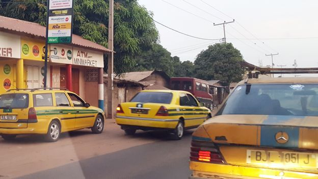 taxis in gambia public transport number one