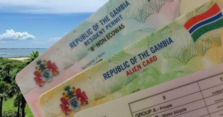 Gambia permits residency